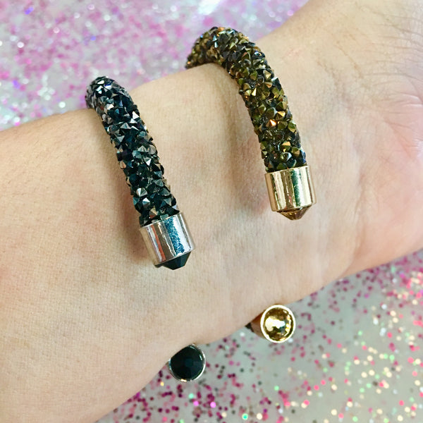 Druzy Glam Bracelets- 2 COLORS