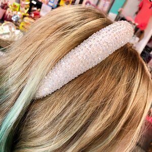 Glam Beaded Headband- 2 COLORS
