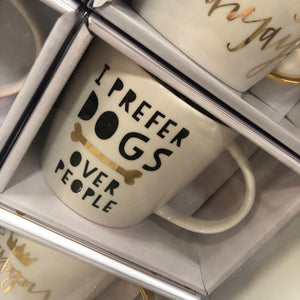 Prefer Dogs Over People 14oz Coffee Mug