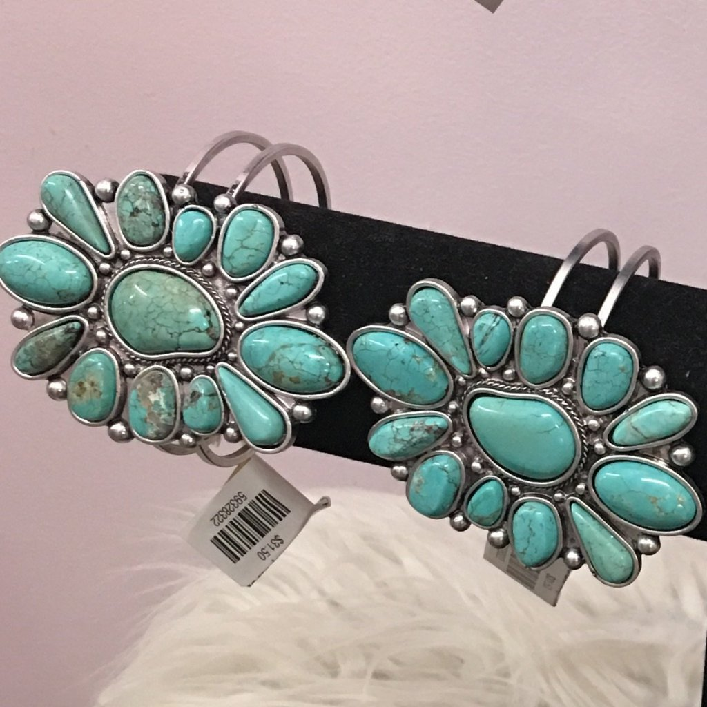 The Charlie Turquoise Bangle