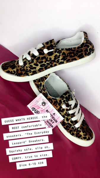 The Everyday Leopard Sneaker