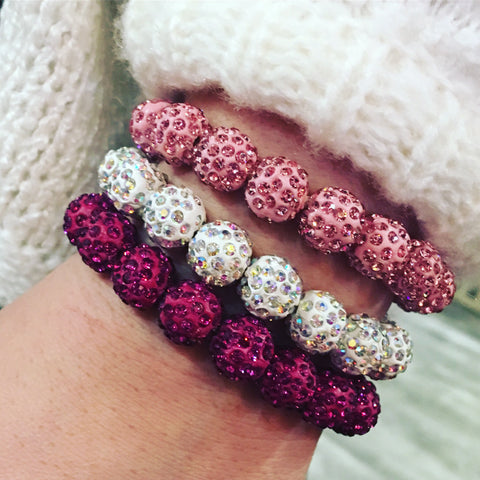 Diamond Layer Bracelet-9 COLORS
