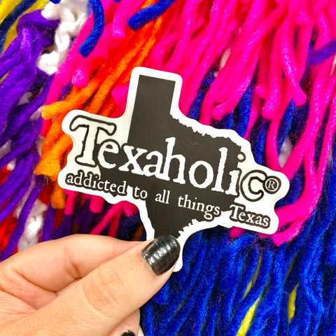 Texaholic Stickers- 2 STYLES