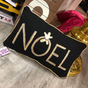 Noel Christmas Pillow