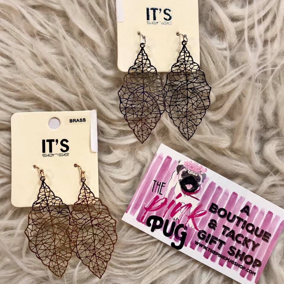 Intricate Moroccan Earrings- 2 COLORS