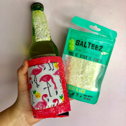 Salteez Beer Salt Strips- 2 FLAVORS!