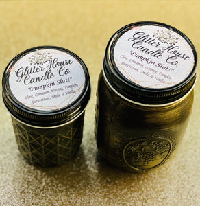 Glitter House Candles 8 oz. Candle