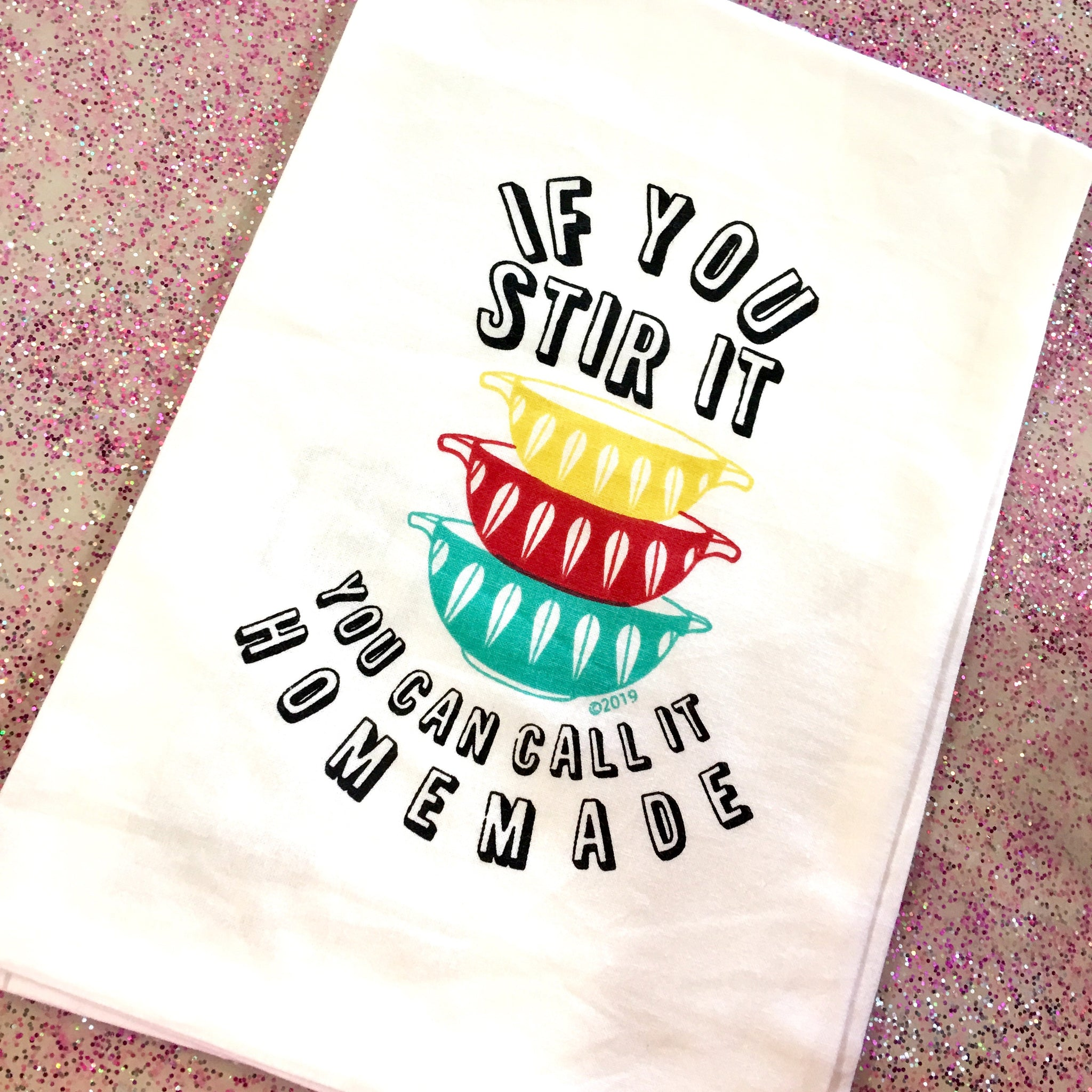 Homemade Dishtowel