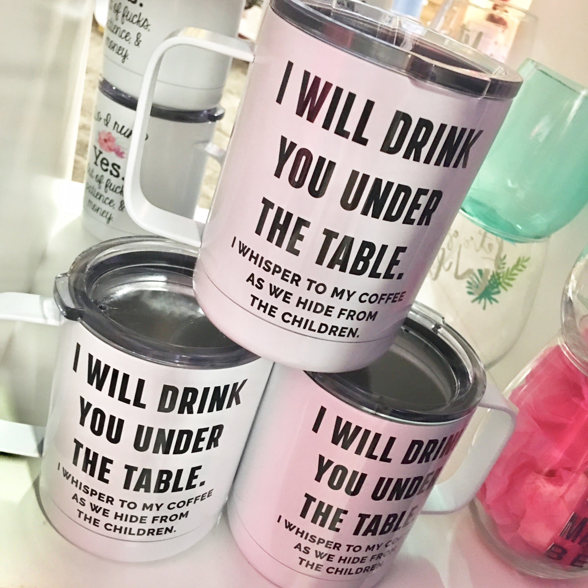Drink You Under The Table Travel Cup