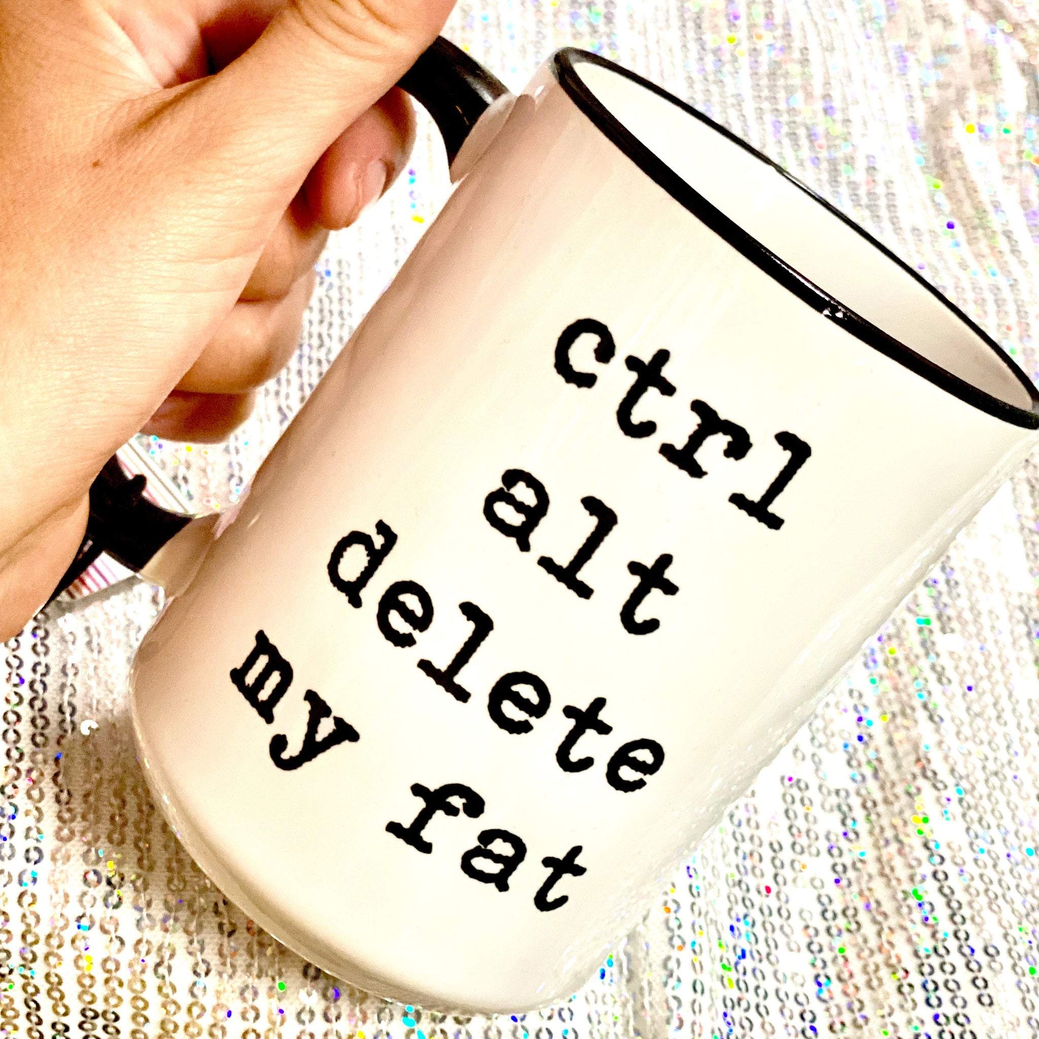 Ctrl Alt Delete My Fat Coffee Mug