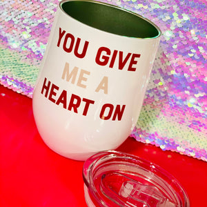 Heart On Travel Wine Cup-SALE