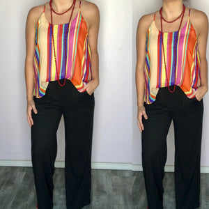 The Jackie Striped Top
