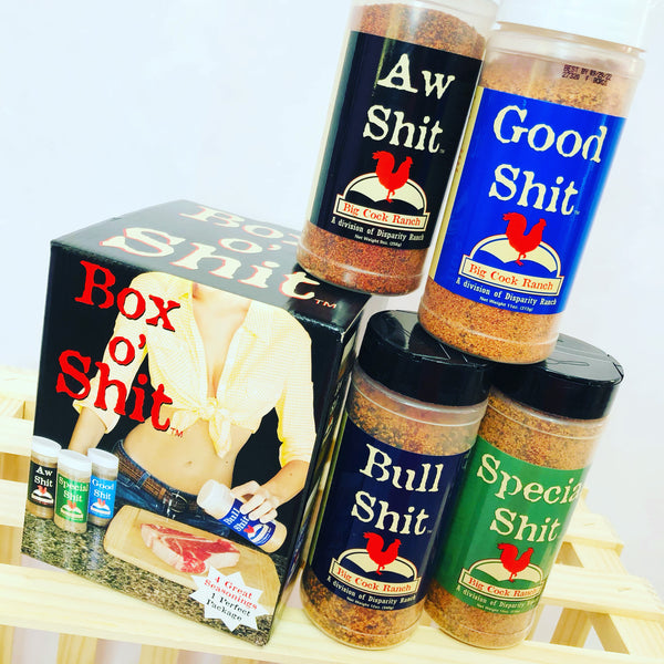 Box O' Shit Seasonings