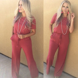 Rose Shake It Off Jumpsuit