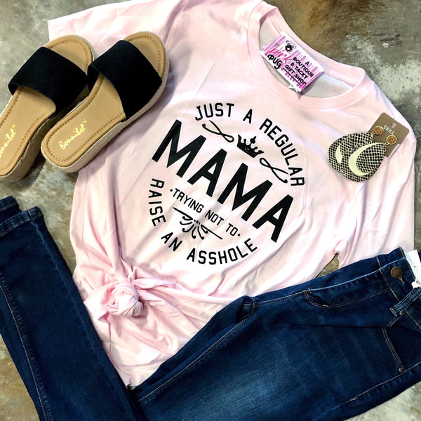 Just A Regular Mama Tee