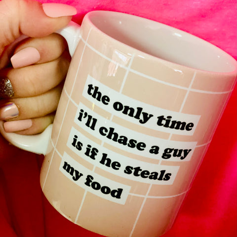Steals My Food 11 oz Coffee Mug