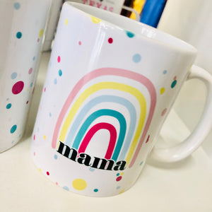 Mama Rainbow 11oz Coffee Mug