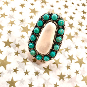 The Austin Turquoise Ring