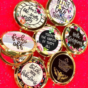 Compact Mirrors- 7 STYLES