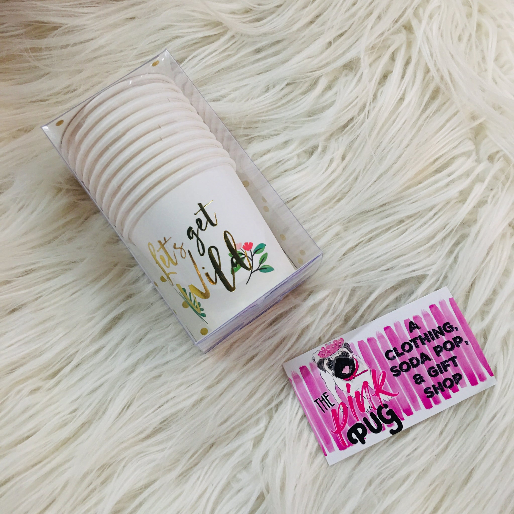 Get Wild Paper Shot Cups 10ct