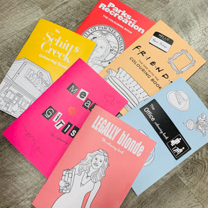 The Cutest Lil' Coloring Book- 6 DIFFERENT BOOKS!