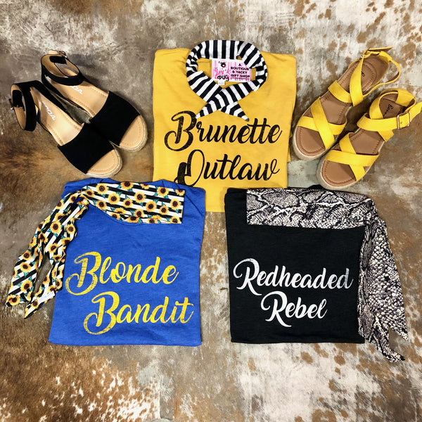 Blonde Bandit T-Shirt