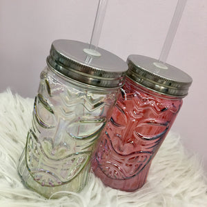 Iridescent Tiki 16.5oz Sipper