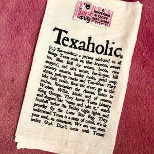 Texaholic Tea Towel