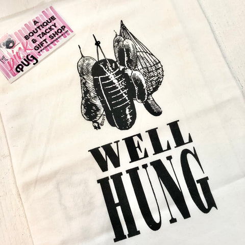 Well Hung Dish Towel