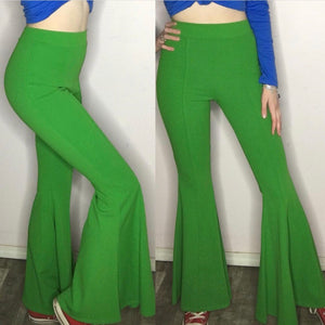 Stay Groovin' Green Bell Bottom Pants