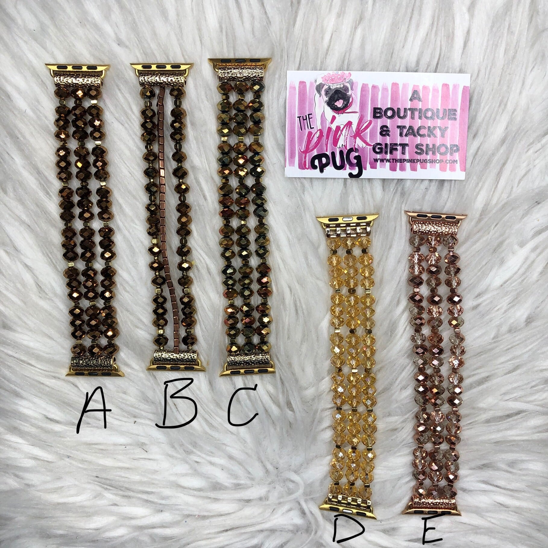 Multi Glam Beaded Apple Watch Bands