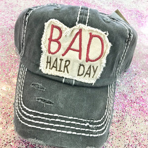 Bad Hair Day Patch Baseball Cap