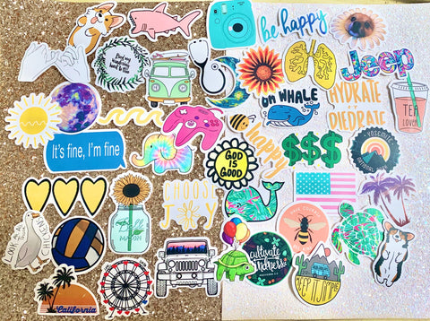 Mix And Match Collage Stickers