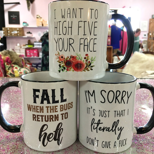 I'm Sorry...Don't Give A F*ck Coffee Mug