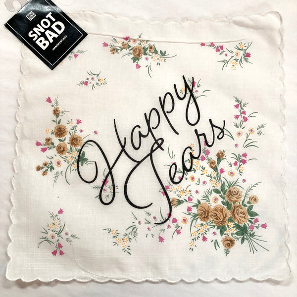 Happy Tears Handkerchief- 3 Colors