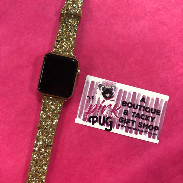 Glitter Apple Watch Bands- 8 COLORS
