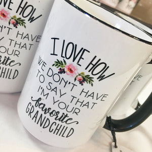 Fav Grandchild 15oz Coffee Mug
