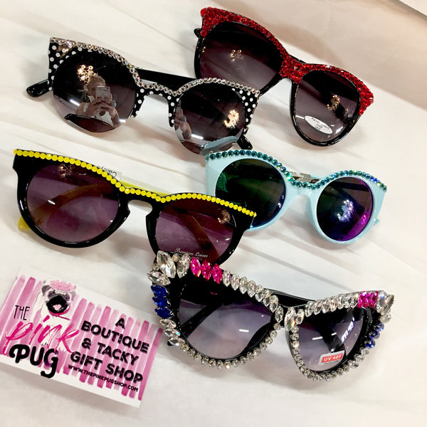 Cateye Glam Sunglasses