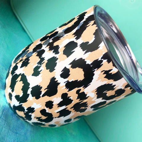 Leopard Wine Cup