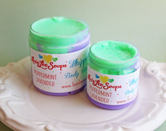 Peppermint Lavender Whipped Body Butter