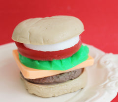 Fun Hamburger Soap