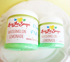 Watermelon Lemonade Cream Fluff Soap