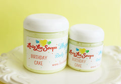 Birthday Cake Whipped Body Butter