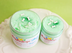 Green Apple Whipped Sugar Scrub Soap