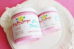 Cake Batter Cream Fluff Soap
