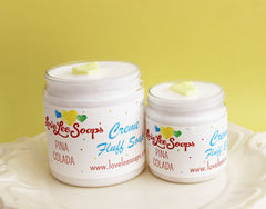 Pina Colada Cream Fluff Soap