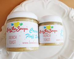 French Toast Cream Fluff Soap
