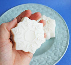 Peppermint Snowflake Soap