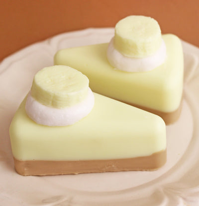 Banana Pie Soap Slice