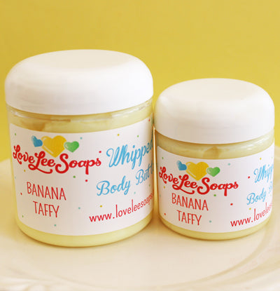 Banana Taffy Whipped Body Butter